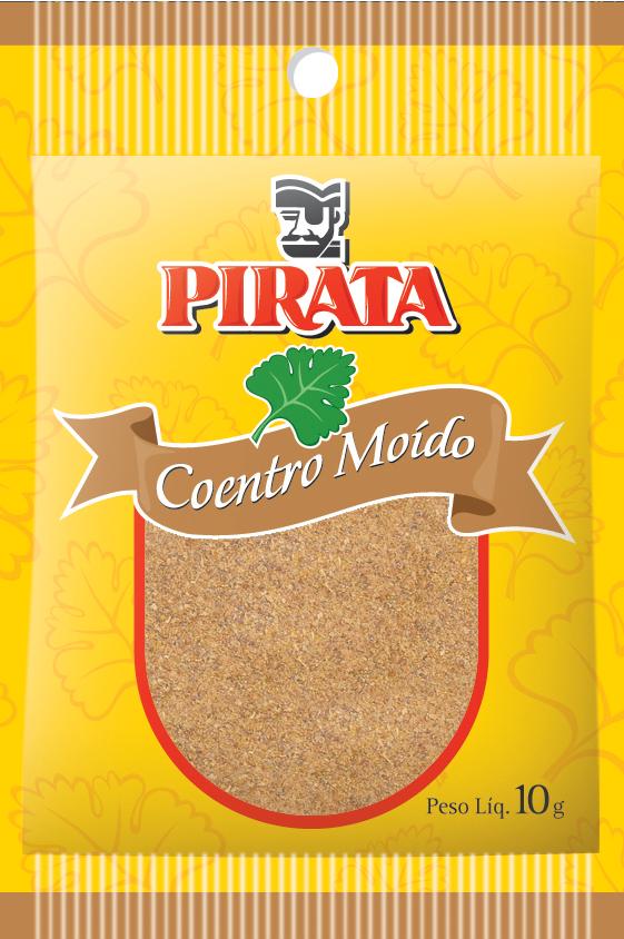 COENTRO MOÍDO PIRATA 10G