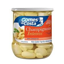 COGUMELO CHAMPIGNON GOMES DA COSTA 170G