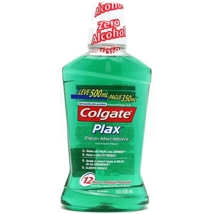 ANTISSÉPTICO COLGATE PLAX SOFT MINT 500ML