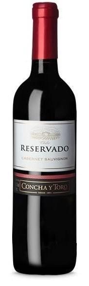 VINHO CONCHA Y TORO RESERVADO  CABERNET SAUVIGNON  CHILE 750ML