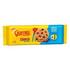 BISCOITO COOKIES GOTAS  CHOCOLATE GAROTO 60G