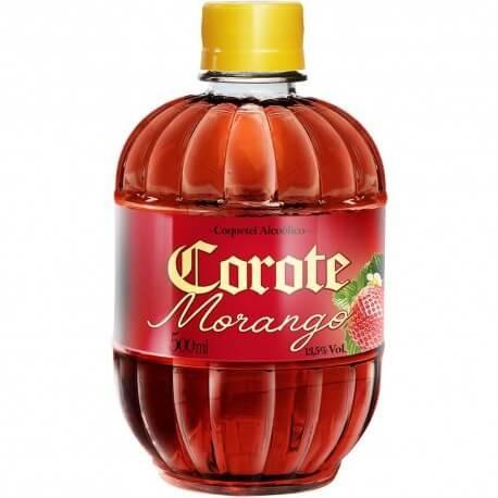 COQUETEL COROTE MORANGO 500ML