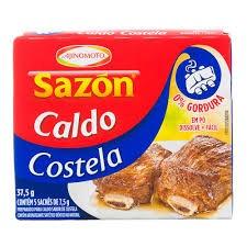 CALDO EM PÓ SAZON COSTELA AJINOMOTO 37,5G