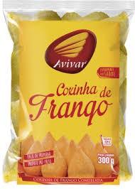 COXINHA DE FRANGO PRÉ FRITO AVIVAR 300G