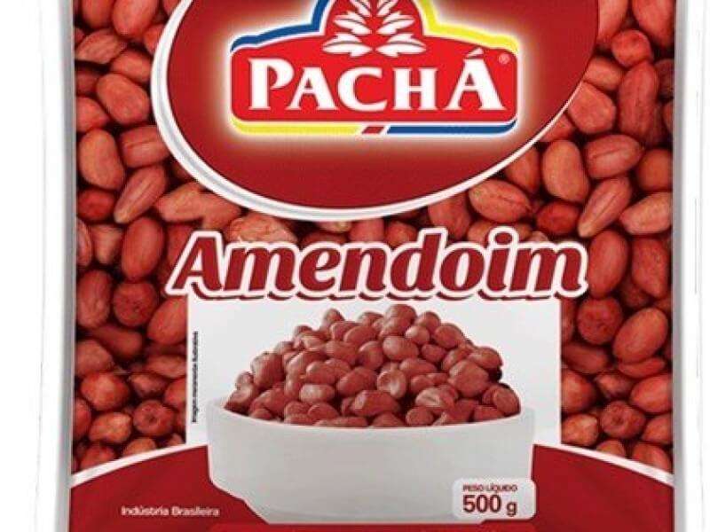 AMENDOIM VERMELHO CRU PACHÁ 500G