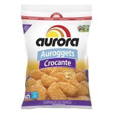AUROGGETS AURORA DE FRANGO CROCANTE  PACOTE 1KG