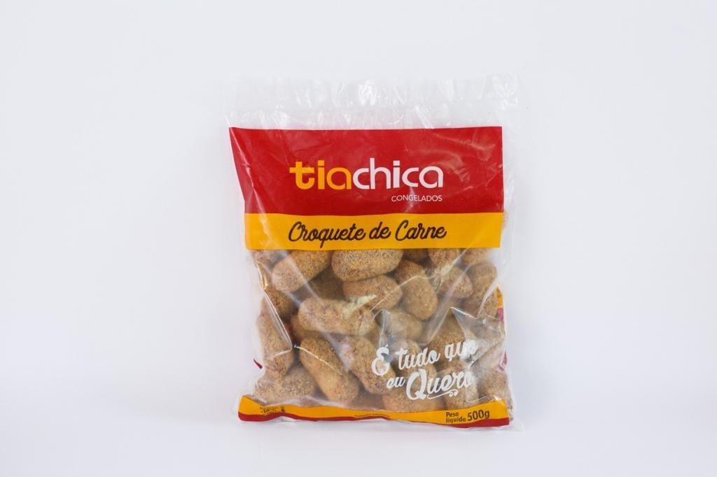 CROQUETE DE CARNE TIA CHICA PRÉ FRITO 500G