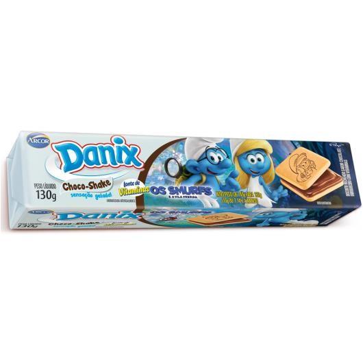 BISCOITO DANIX RECHEADO CHOCOLATE SHAKE 130G