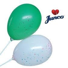 BALAO LATEX JUNCO SALPICADO N.65 SORTIDOS 10UN
