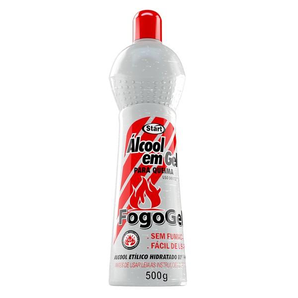 ÁLCOOL EM GEL FOGOGEL   INCOLOR START  500G