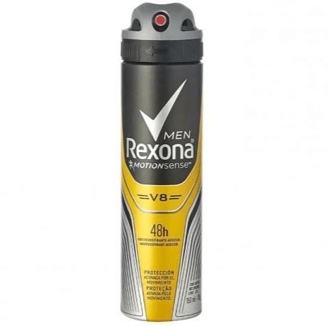 DESODORANTE AEROSOL REXONA MEN V8 150ML