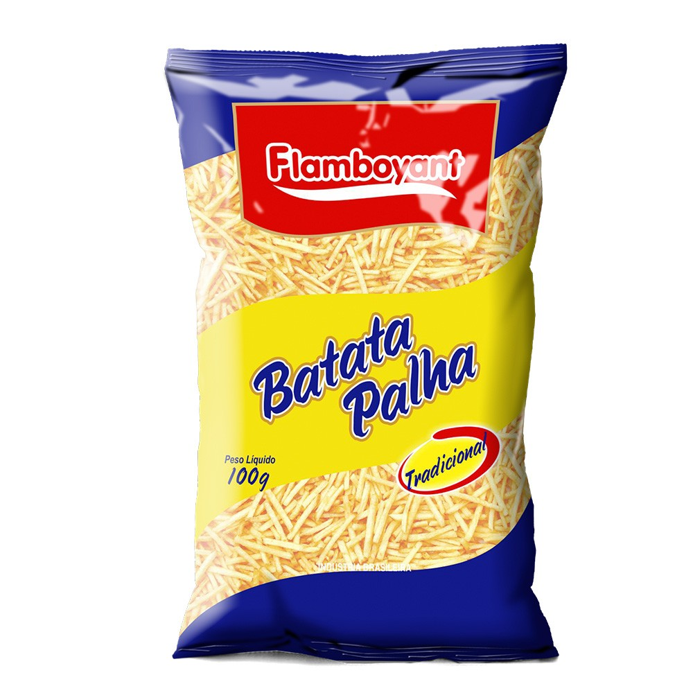 BATATA PALHA FLAMBOYANT 100G
