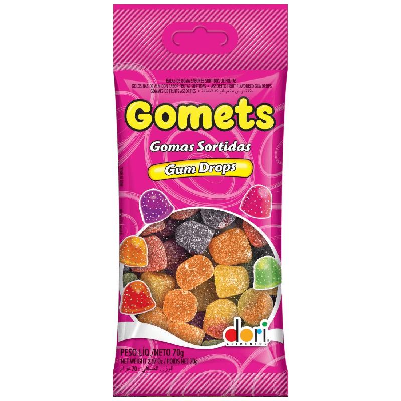 GOMETS GOMAS SORTIDAS DORI 70G
