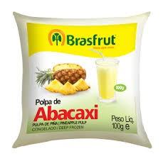 POLPA DE ABACAXI BRASFRUT 100G