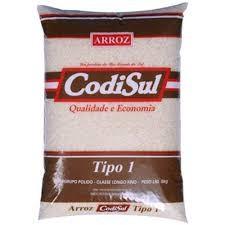 ARROZ CODISUL TIPO1  5KG
