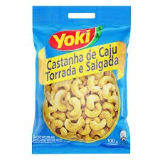 CASTANHA DE CAJU YOKI 100G