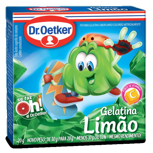 GELATINA DR.OETKER LIMÃO 20G