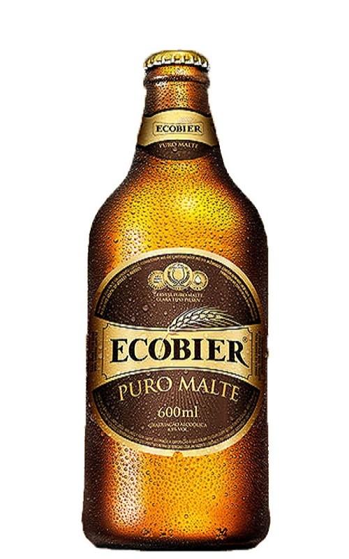 CERVEJA ECOBIER  PURO MALTE 600ML