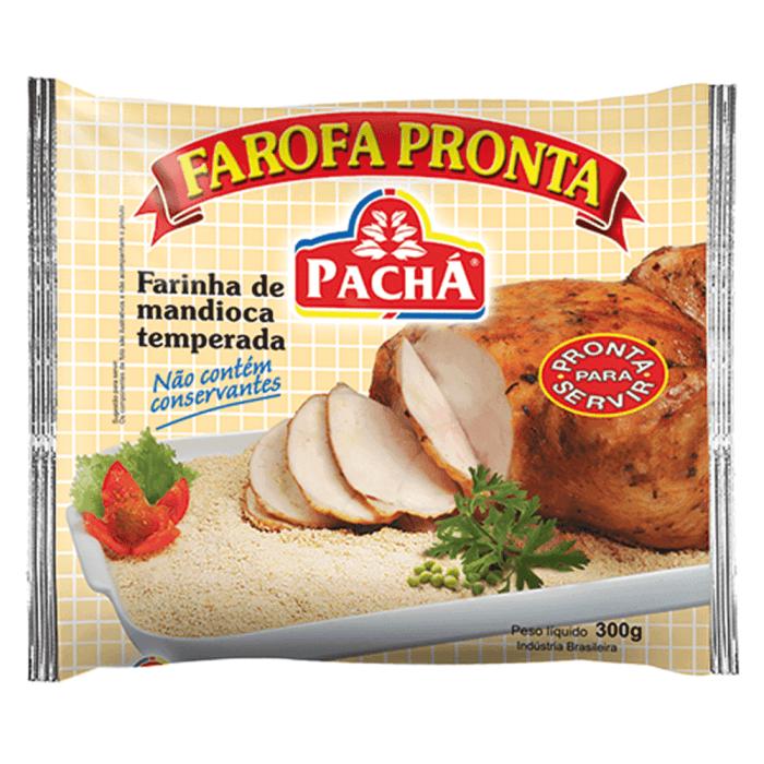 FAROFA PRONTA DE MANDIOCA PACHÁ 300G