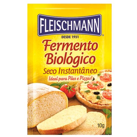 FERMENTO BIOLÓGICO SECO INSTANTÂNEO FLEISCHMANN 10G