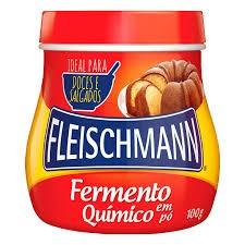 FERMENTO EM PO FLEISCHEMAN POTE 100G