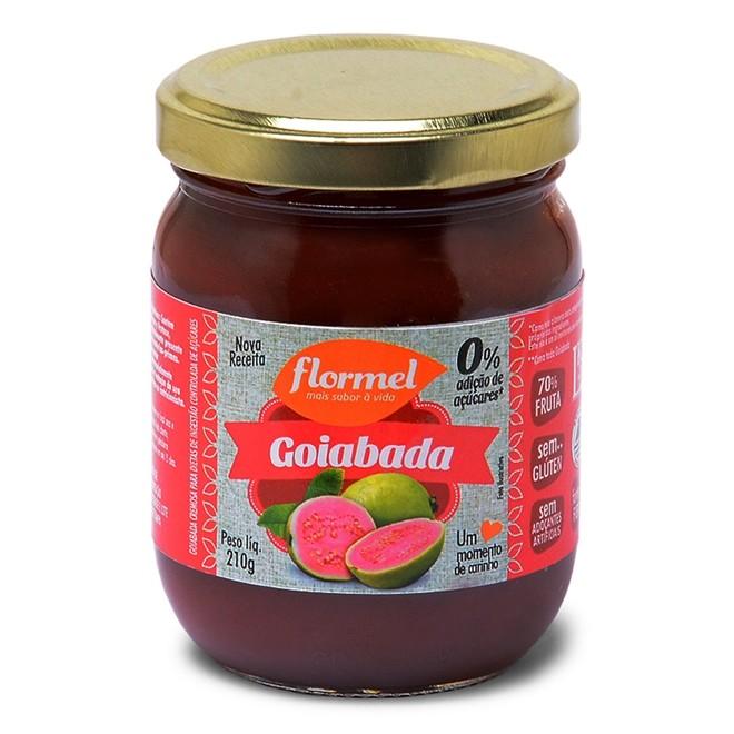 GOIABADA FLORMEL 210G