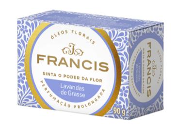 SABONETE FRANCIS CLÁSSICO LAVANDAS DE GRASSE 90G