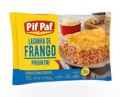 LASANHA DE FRANGO PIF PAF 600G