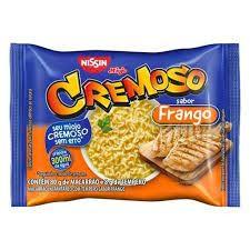 MACARRÃO INSTANTÂNEO NISSIN CREMOSO FRANGO 85G