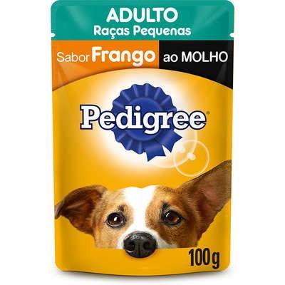 SACHÊ PEDIGREE  ADULTO RAÇAS PEQUENAS FRANGO 100G
