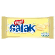 CHOCOLATE NESTLÉ GALAK BRANCO 90G