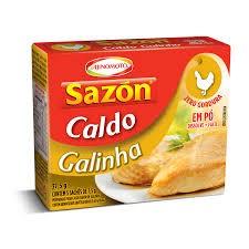 CALDO EM PÓ SAZON GALINHA AJINOMOTO 37,5G