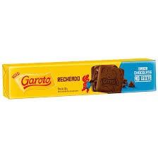 BISCOITO RECHEADO GAROTO CHOCOLATE AO LEITE 130G