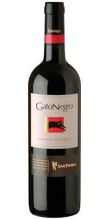 VINHO GATO NEGRO CABERNET SAUVIGNON  CHILE 2018 750ML