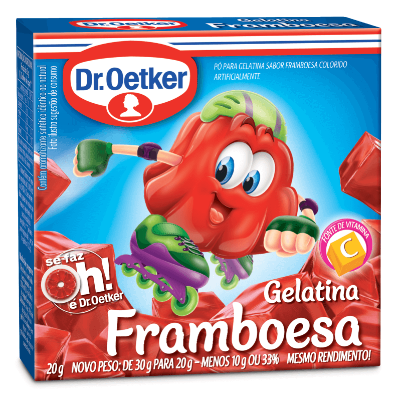 GELATINA DR.OETKER FRAMBOESA 20G