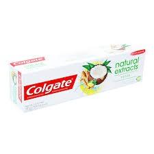 CREME DENTAL COLGATE NATURALS EXTRACTS COCO E GENGIBRE 90G