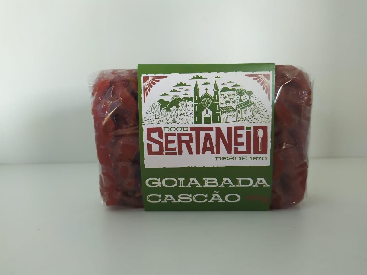 DOCE SERTANEJO EM BARRA GOIABADA CASCAO 450G