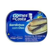 SARDINHA COM ÓLEO GOMES DA COSTA 250g