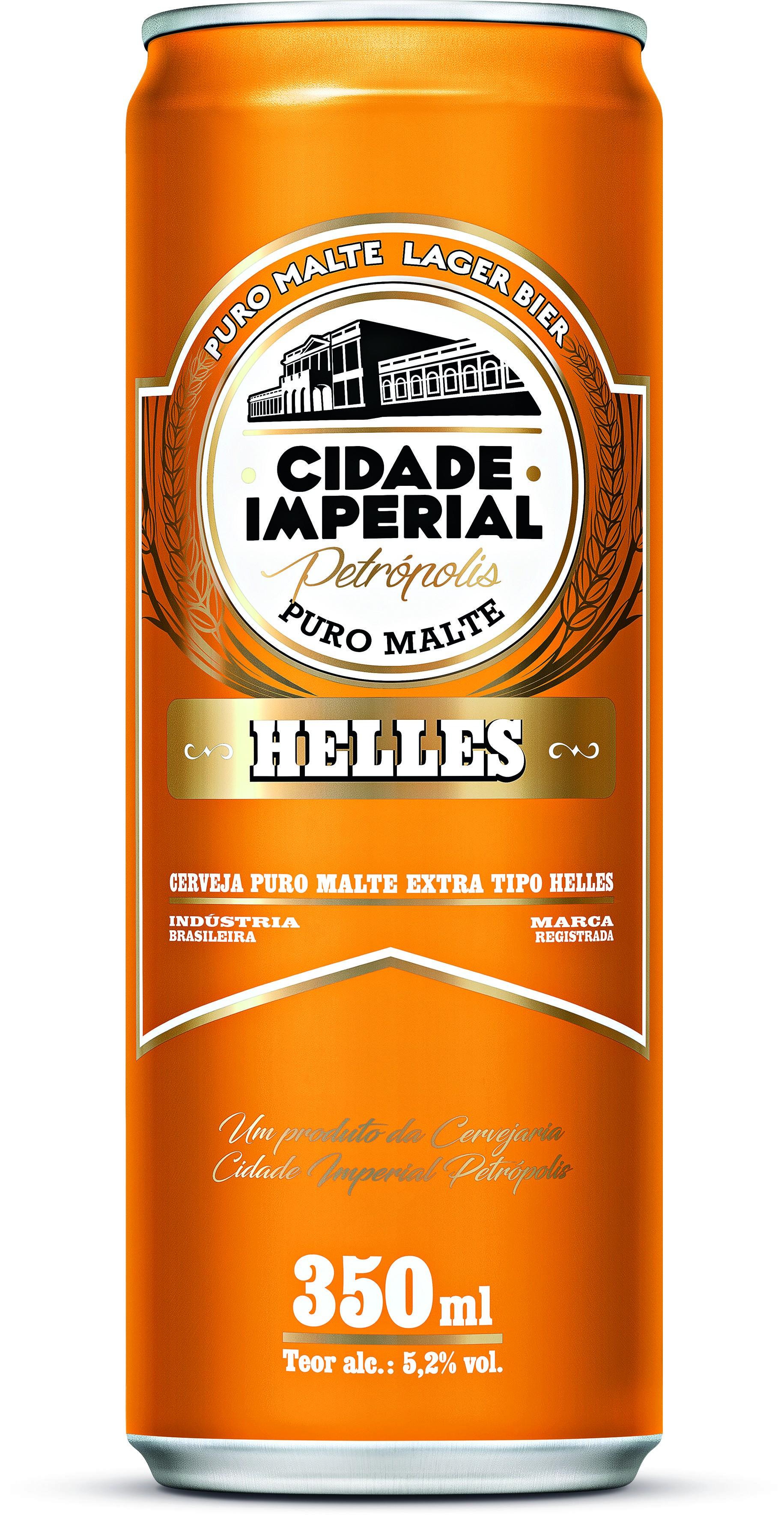CERVEJA CIDADE IMPERIAL PURO MALTE HELLES 350ML UN