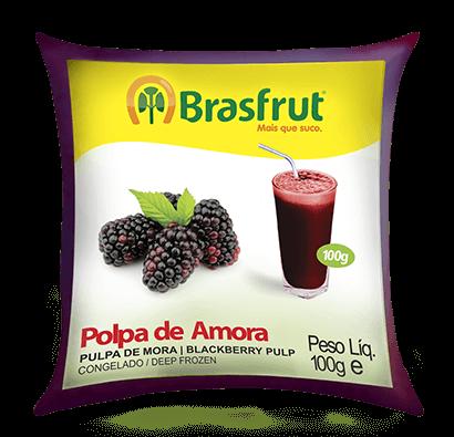 POLPA DE AMORA BRASFRUT 100G