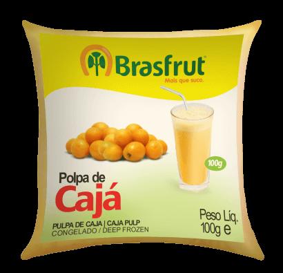 POLPA DE CAJÁ BRASFRUT 100G