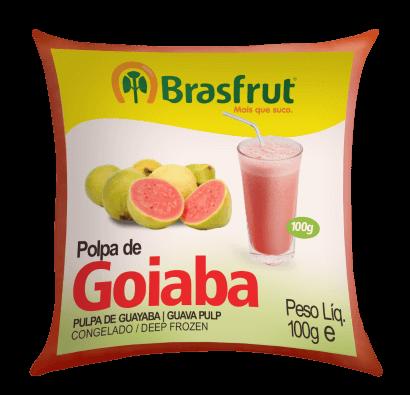 POLPA DE GOIABA BRASFRUT 100G