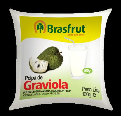 POLPA DE GRAVIOLA BRASFRUT 100G