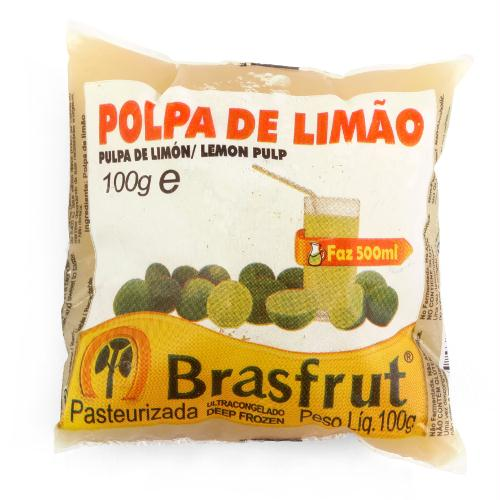 POLPA DE LIMÃO BRASFRUT 100G