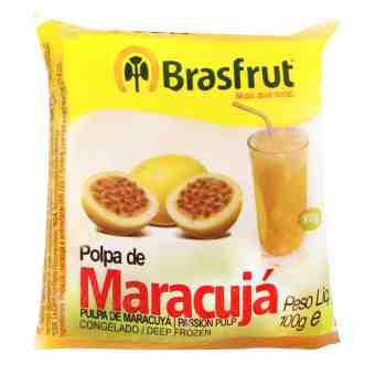 POLPA DE MARACUJÁ BRASFRUT 100G