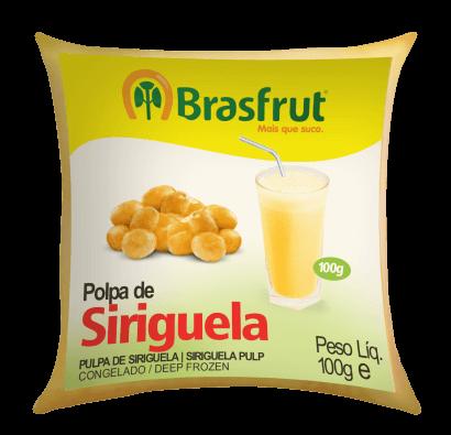 POLPA DE SIRIGUELA BRASFRUT 100G
