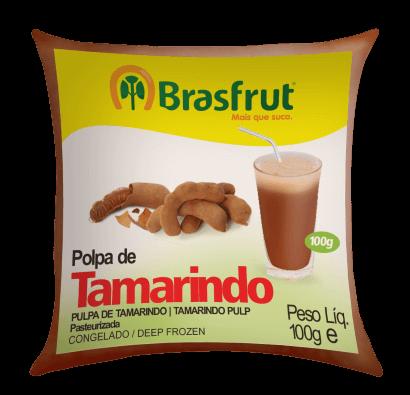 POLPA DE TAMARINDO BRASFRUT 100G