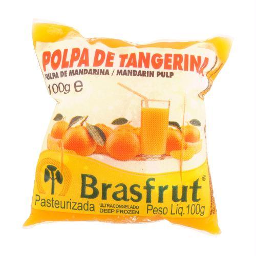 POLPA DE TANGERINA BRASFRUT 100G