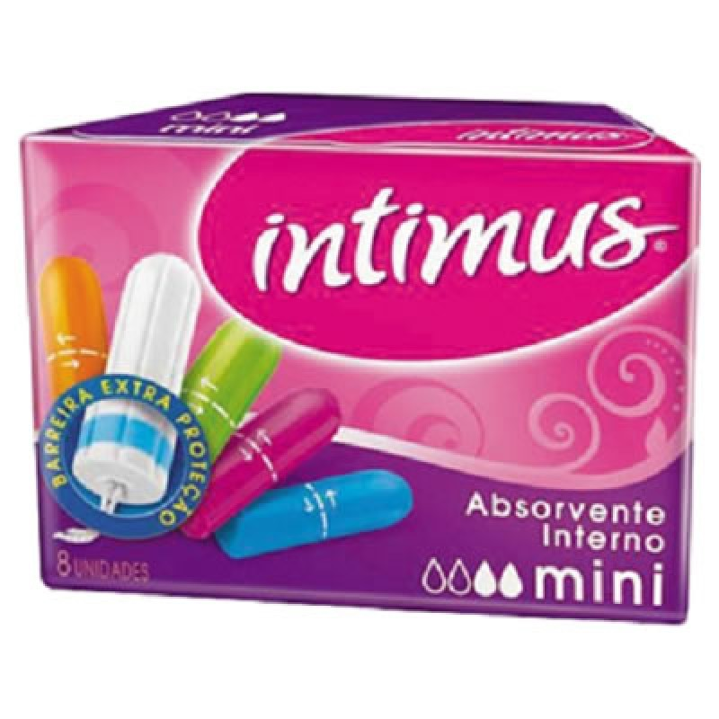 ABSORVENTE INTIMUS INTERNO MINI 8UN