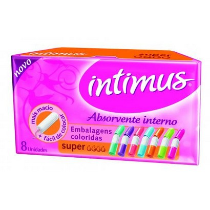 ABSORVENTE INTIMUS INTERNO SUPER 8UN